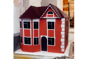 Макеты домов из пенопласта
