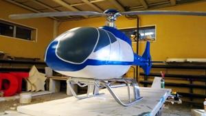 Вертолет из пенопласта