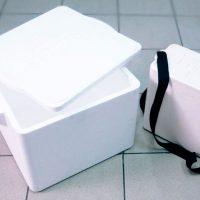 Ящик с крышкой и ремнем
