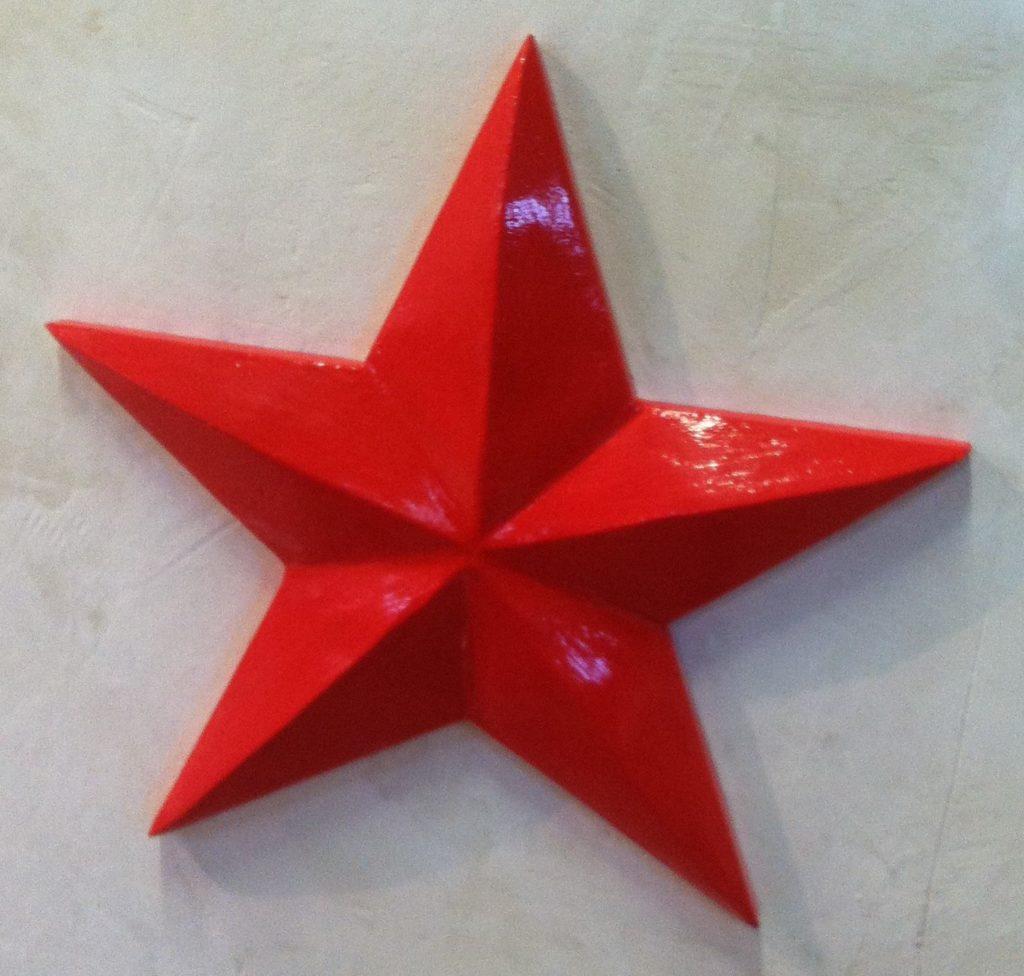 звезда из пенопласта