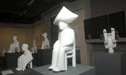 Инсталляции из пенопласта