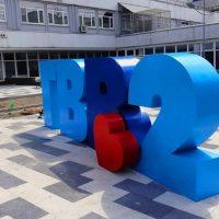 Объемные буквы и цифры из пенопласта