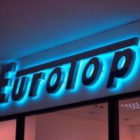 Световые объемные буквы из пенопласта EuroTop