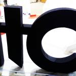 Объемные буквы ITC