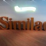 Объемное слово Similac