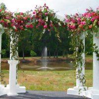 Арка на свадьбу большая