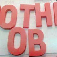 Буквы из пенопласта для фамилии