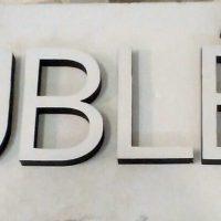 Пенопластовые буквы для фамилии