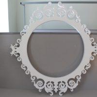 Свадебная рамка, круглая