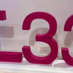 Объемная надпись Т33