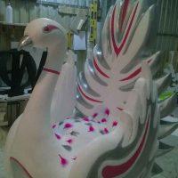 декоративный лебедь