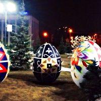 Яйца с росписью