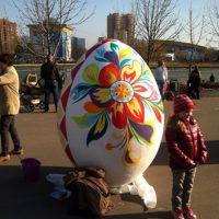 Яйцо с росписью