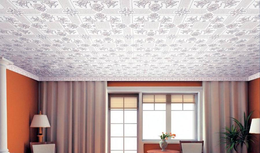Потолочная плитка, дизайн