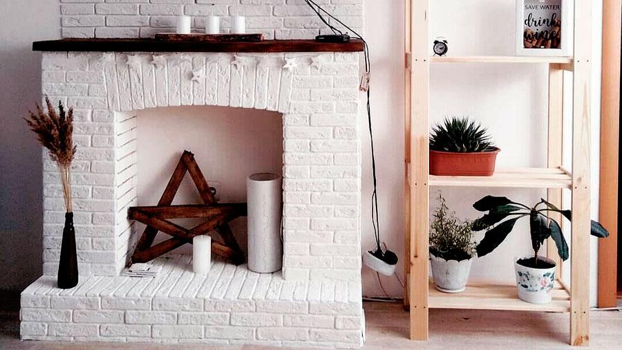 Камин в стиле минимализм