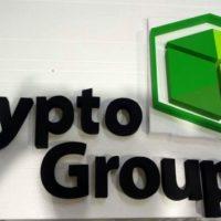 Надпись из пенопласта Crypto Group