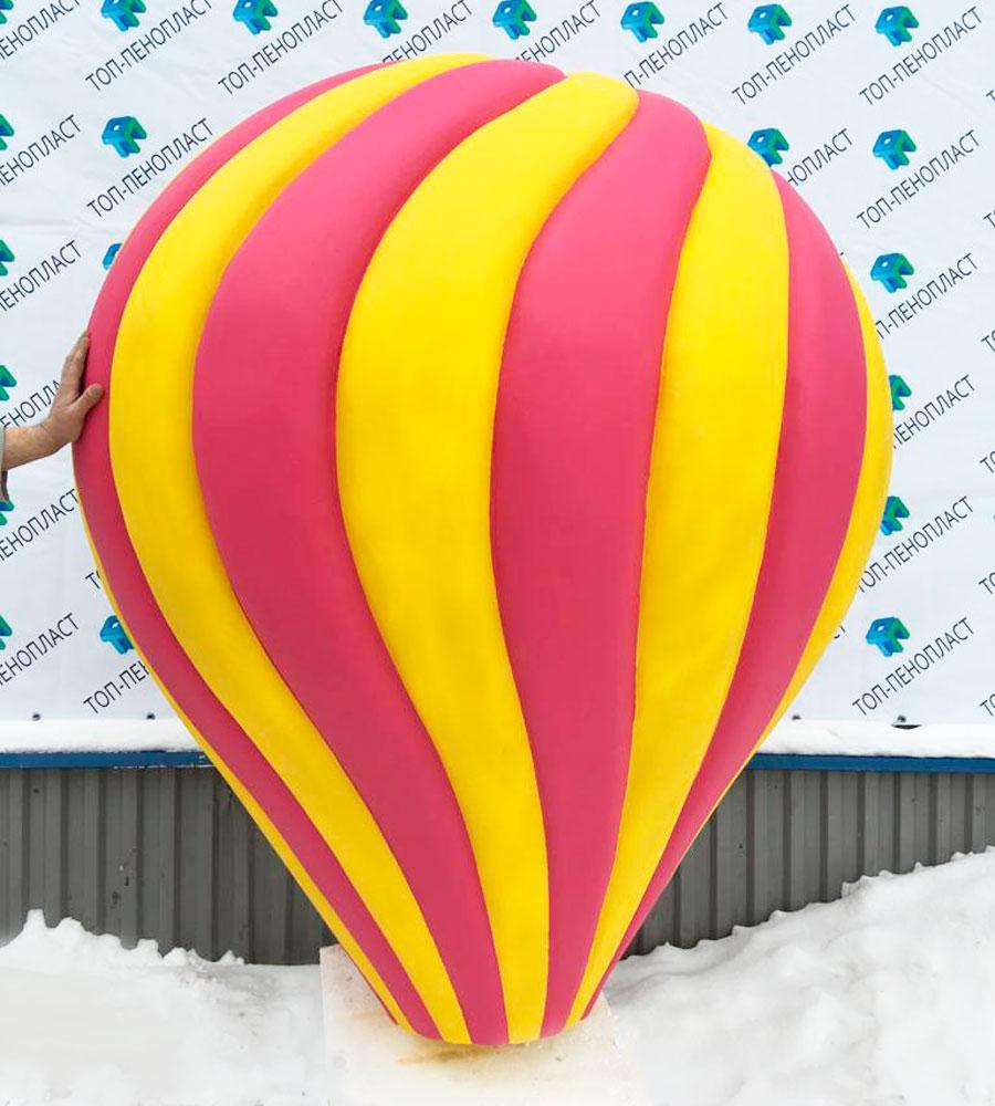 Воздушный шар красно-желтый