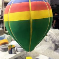 Воздушный шар из пенопласта