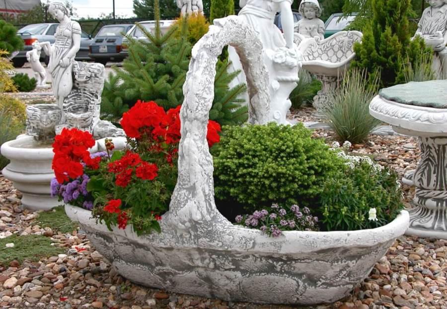 Изделия из бетона для сада
