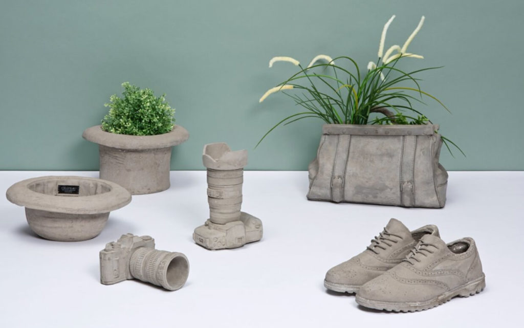 Интерьерный декор из бетона