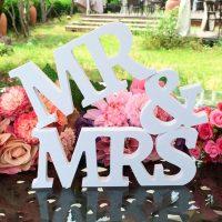 Mr и Mrs - слова для свадьбы