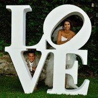 "Свадебные слова ""Love"""