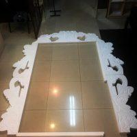 Свадебная рамка из пенопласта прямоугольная