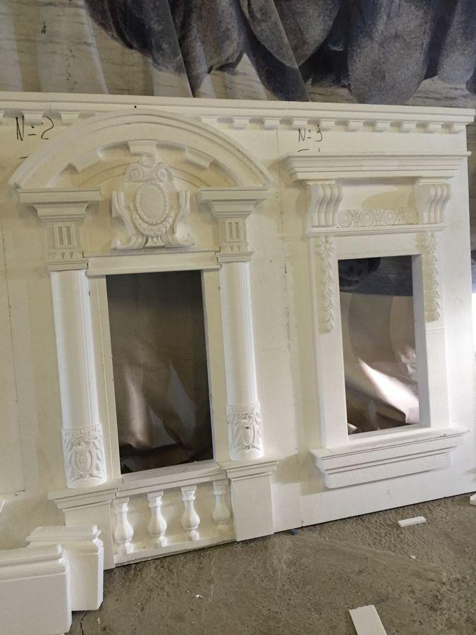 Фасад для декора окна