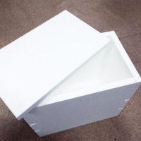 Коробка с крышкой, обычная