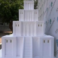 Замок из пенопласта