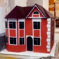 Макеты домов из пенопласта. Домик