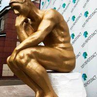 Скульптура из пенопласта под золото