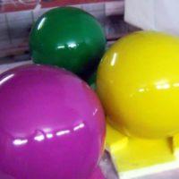 Большие шары цветные