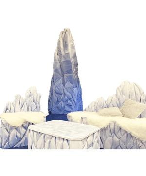 Ледяной торос из пенопласта