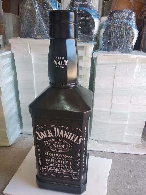 СРП-резка. Бутылка из пенопласта