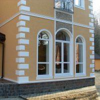 Фасадный декор Рустовые камни